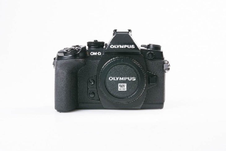 cp.1845 Used Olympus OM-D-E-M1 Camera, Black (Body Only)