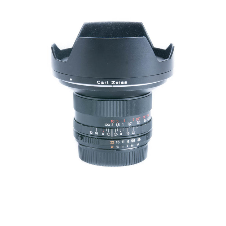 cp.2092 Used ZEISS Distagon T* 18mm F/3.5 ZF.2 Lens for Nikon F-Mount Cameras