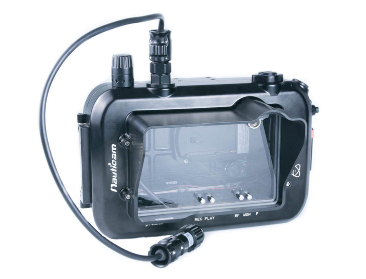cp.2096 Used Nauticam Atomos Shogun Housing for Atomos Shogun and Ninja Assassin 10-bit 4K SDI / HDMI Recorder/Monitor/Player (with HDMI input) (SKU:17904)