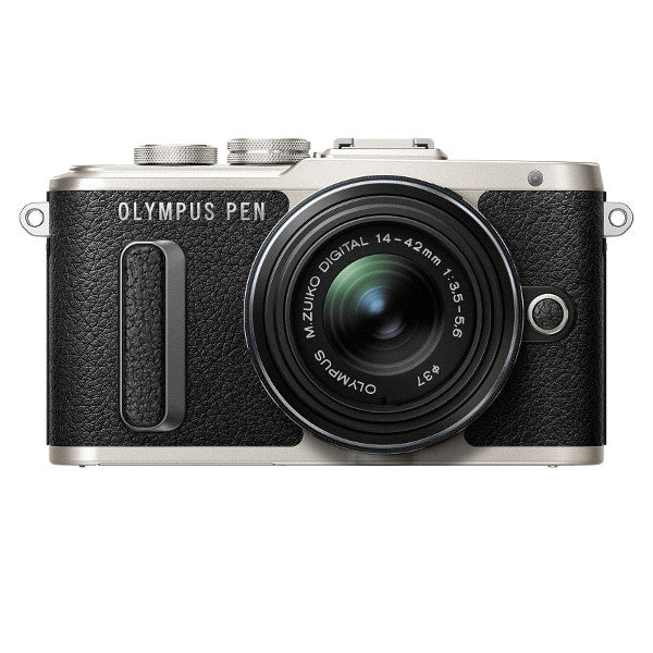 Olympus PEN E-PL8 Mirrorless Micro Four Thirds Digital Camera with 14-42mm Lens (Black)
