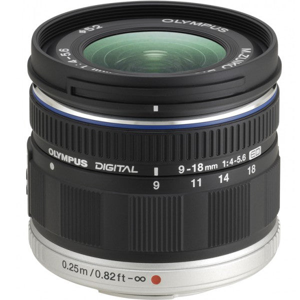 Olympus M.Zuiko Digital ED 9-18mm f/4.0-5.6 Zoom Lens