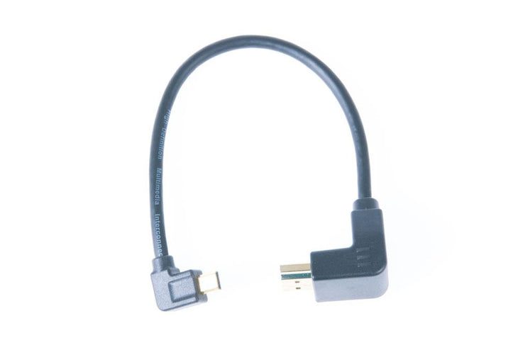 Nauticam HDMI (A-D) Cable in 200mm Length (for NA-058)