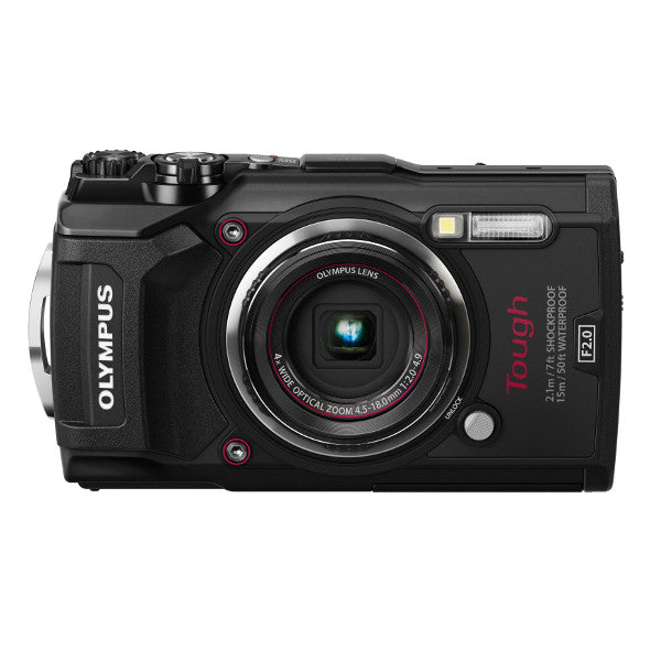 Olympus TG-5 iHS Digital Camera, Black