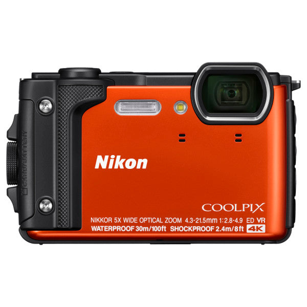 Nikon COOLPIX W300 Digital Camera, Orange