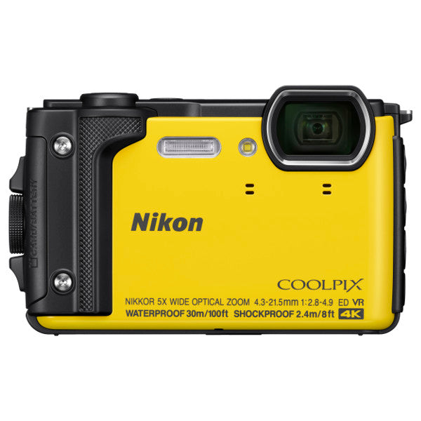 Nikon COOLPIX W300 Digital Camera, Yellow