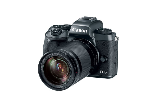 Canon EOS-M5 with EF-M 18-150mm IS STM