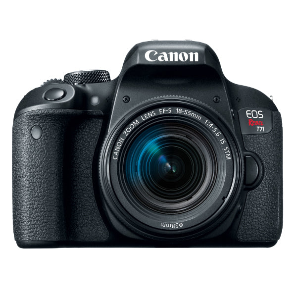 Canon EOS Rebel T7i DSLR Camera with 18-55mm IS STM Lens