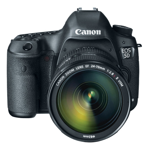 Canon EOS 5D Mark III Digital Camera With 24-70mm f/4 IS Lens