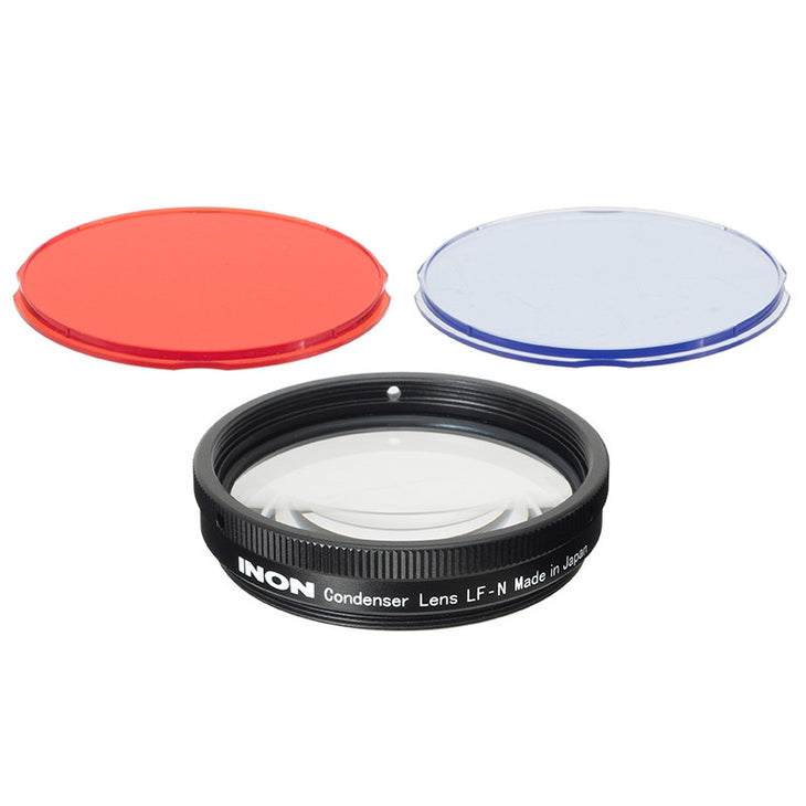 Inon Condenser Lens LF-N (includes LF Red Filter, LF Blue Filter)