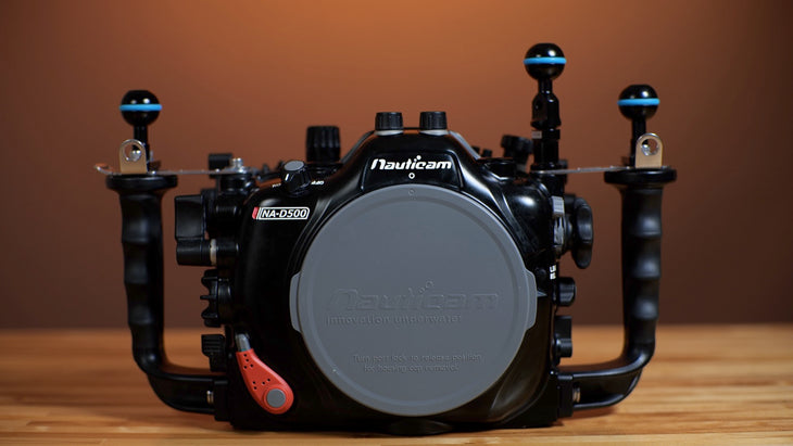 CP.3686 Used Nauticam NA-D500 housing for Nikon D500 Camera