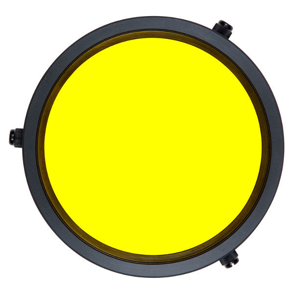 Ikelite Removable External Yellow Barrier Filter for DSLR Flat Port