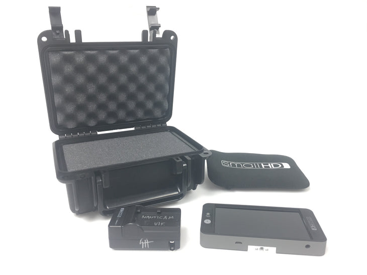 cp.3045 Used SmallHD 502 Monitor with case and battery charger