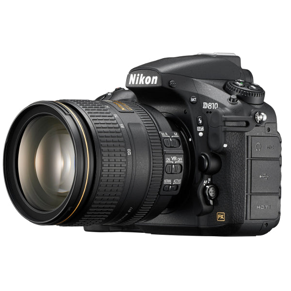 Nikon D810 DSLR Camera with 24-120mm f/4 G ED VR Lens