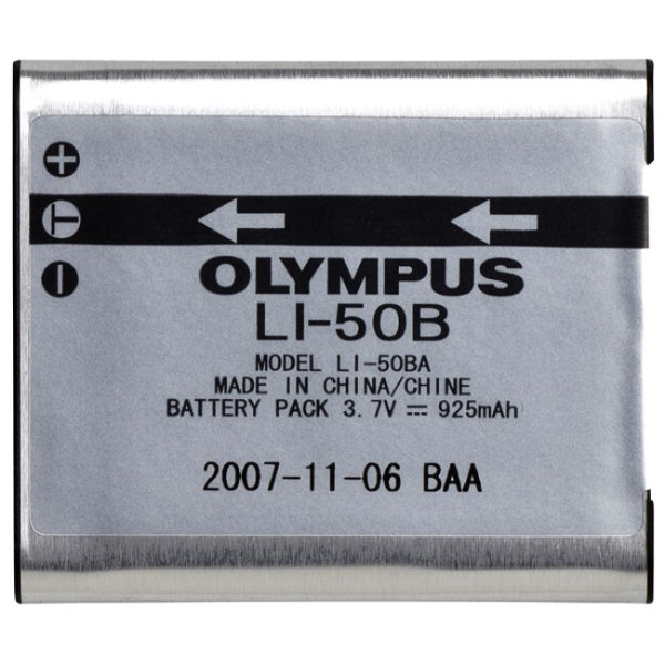 Olympus LI-50B Lithium-Ion Battery (3.7v 925mAh)