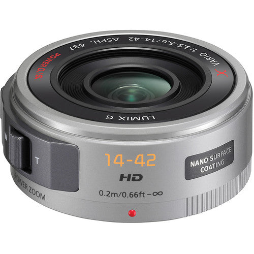 Panasonic Lumix G X Vario PZ 14-42mm f/3.5-5.6 ASPH. POWER O.I.S. Lens