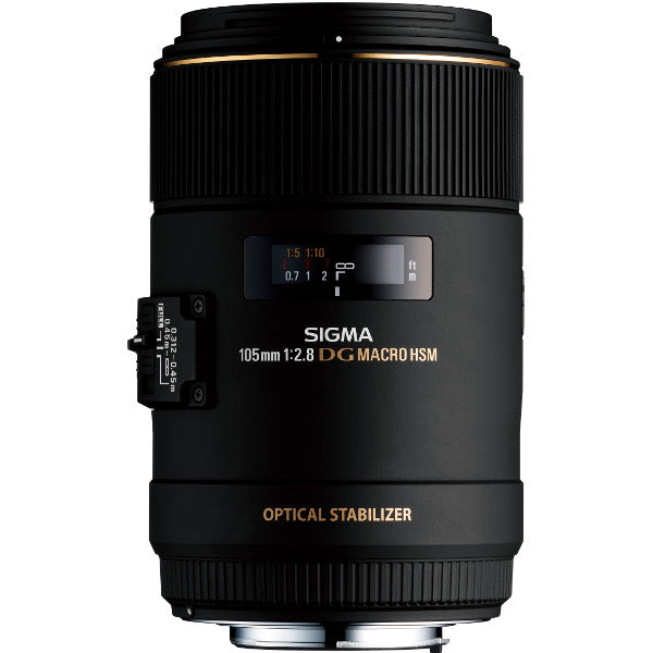 Sigma 105mm f/2.8 EX DG OS HSM Macro for Nikon