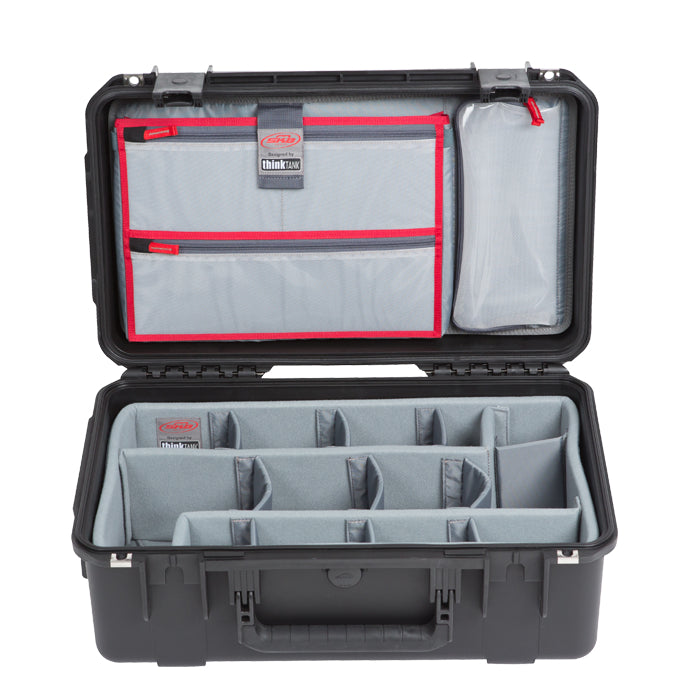 SKB Waterproof Case 20 x 11 x 8, Think Tank Dividers, Lid Organizer