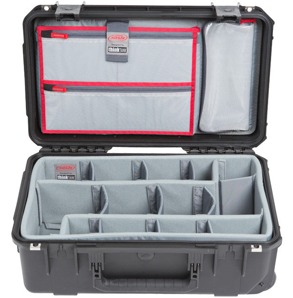 SKB Waterproof Case 20 x 11 x 7, Think Tank Dividers, Lid Organizer, Wheels, Handle