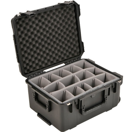SKB Waterproof Case 22 x 17 x 10, Dividers, Wheels, Handle