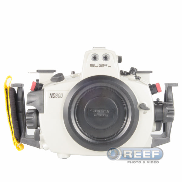 Subal ND800 Housing for Nikon D800 w/ Standard Viewfinder, V4 Port Mount