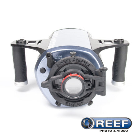 Reefnet SubSee Adaptor for Light & Motion Flat Port - 83.6mm Diameter