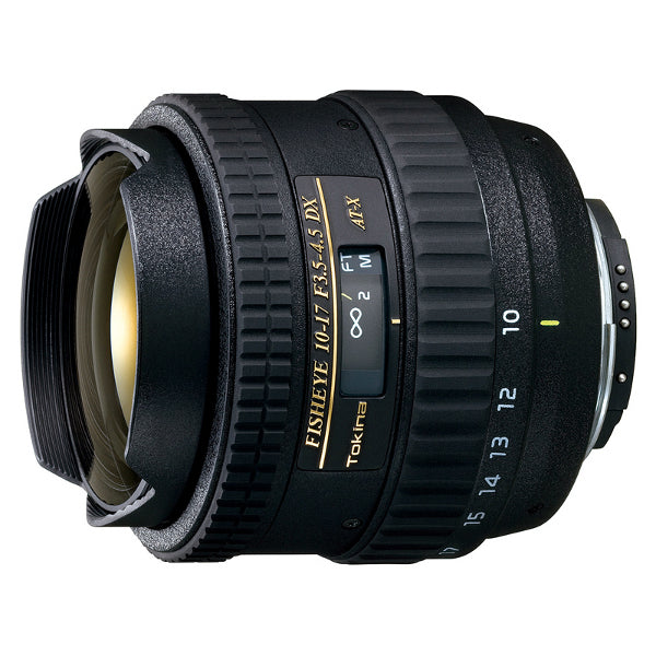 Tokina AT-X 10-17mm f/3.5-4.5 DX Fisheye Lens for Nikon