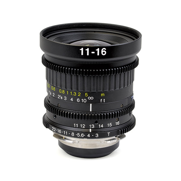 Tokina 11-16mm T3.0 Cinema Lens with PL Mount