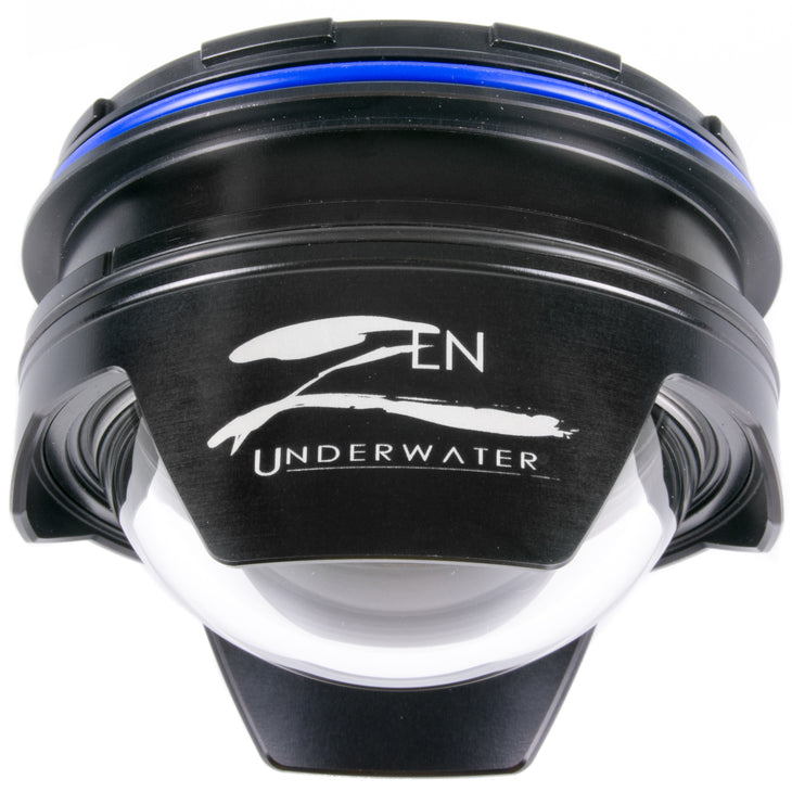 Zen DP-100-N120CR  4 Inch Glass Dome Port for Canon 8-15 , Nikon 8-15 Nauticam, Removable Shade
