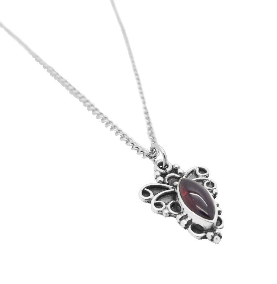 Garnet Alchemy Necklace