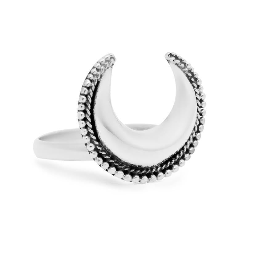 Sterling Silver Luna Goddess Ring