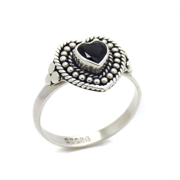 Sterling Silver & Smokey Quartz Love Spell Ring