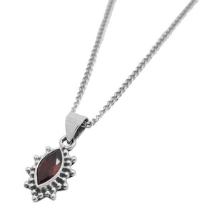 Garnet Selene Necklace