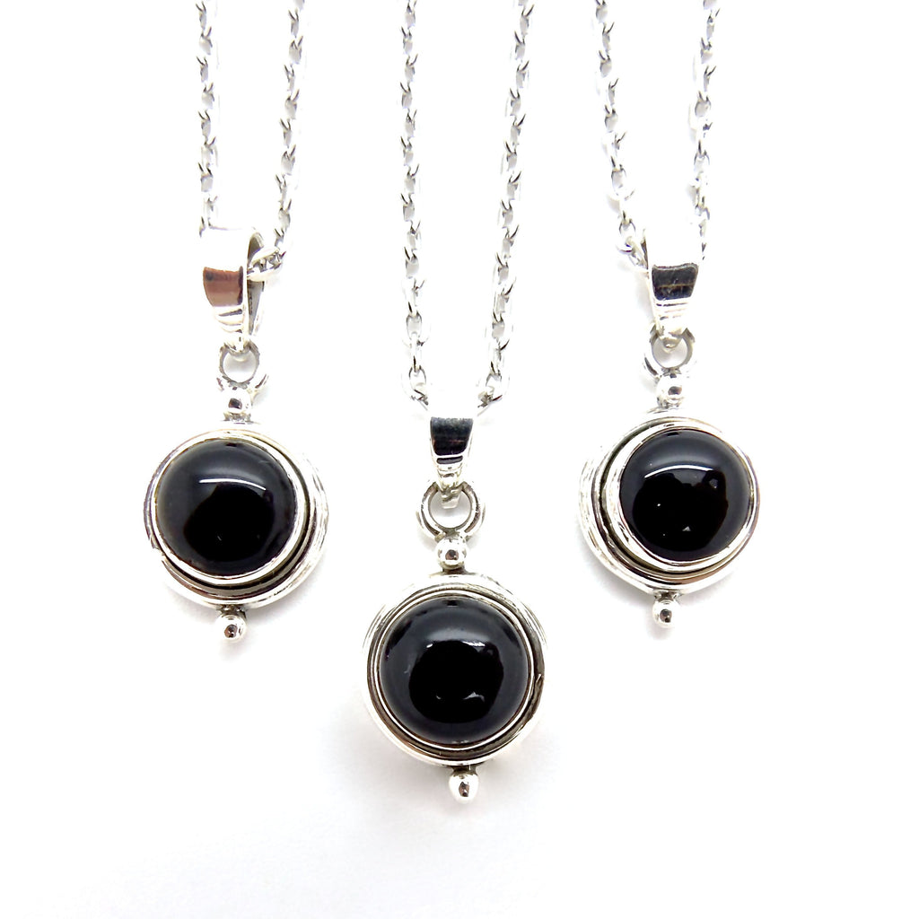 Black Onyx Witchcraft Necklace