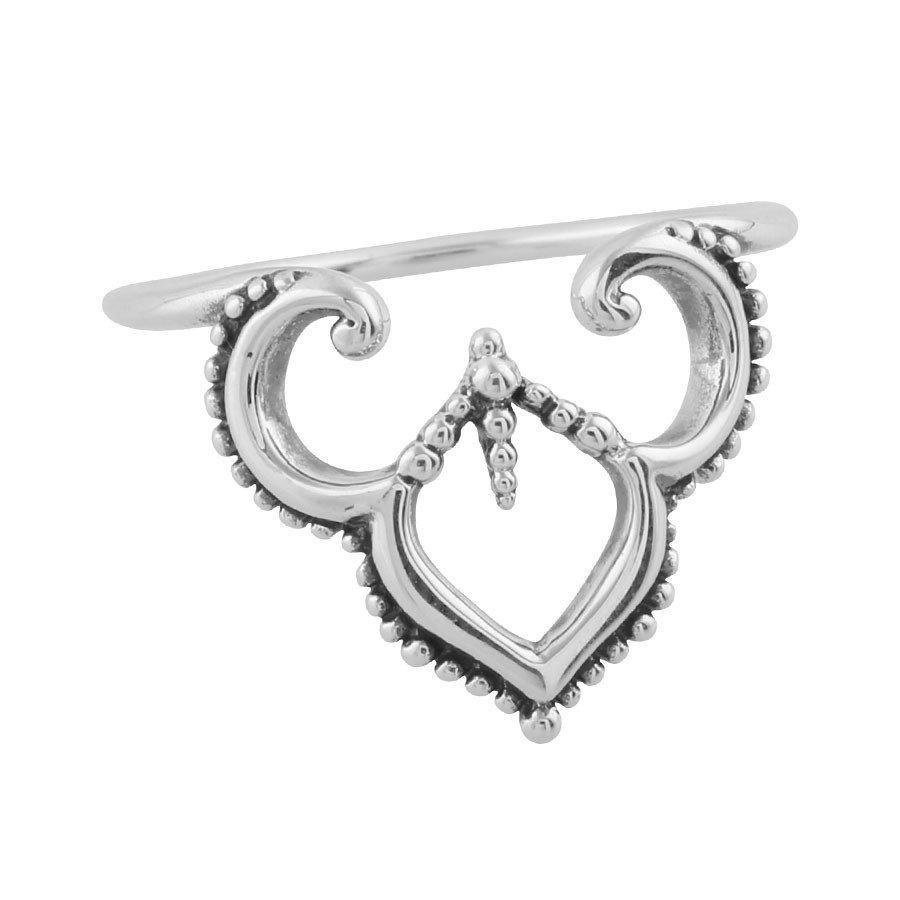 Sterling Silver Maharaja Archway Ring
