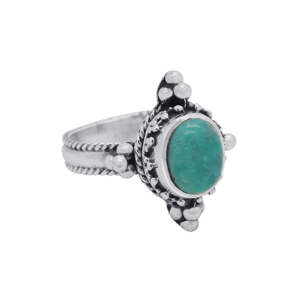 Sterling Silver & Turquoise Bellatrix Ring