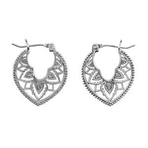 Sterling Silver Aurora Twilight Hoops