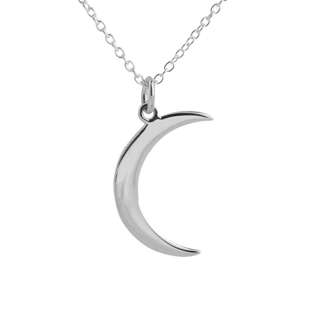 Sterling Silver Moon Energy Necklace