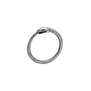 Sterling Silver Ouroboros Ring