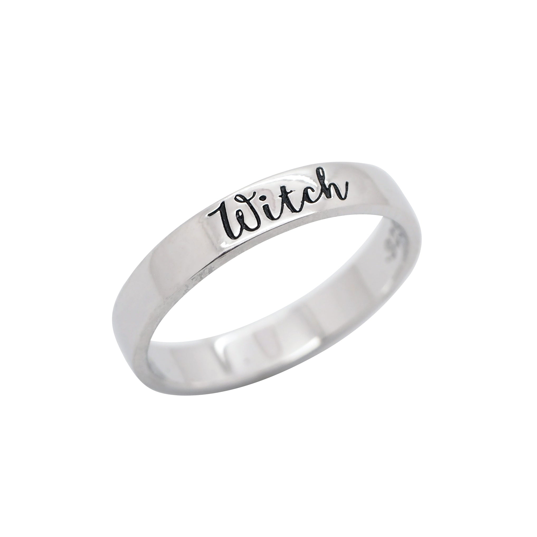 Sterling Silver Witch Ring