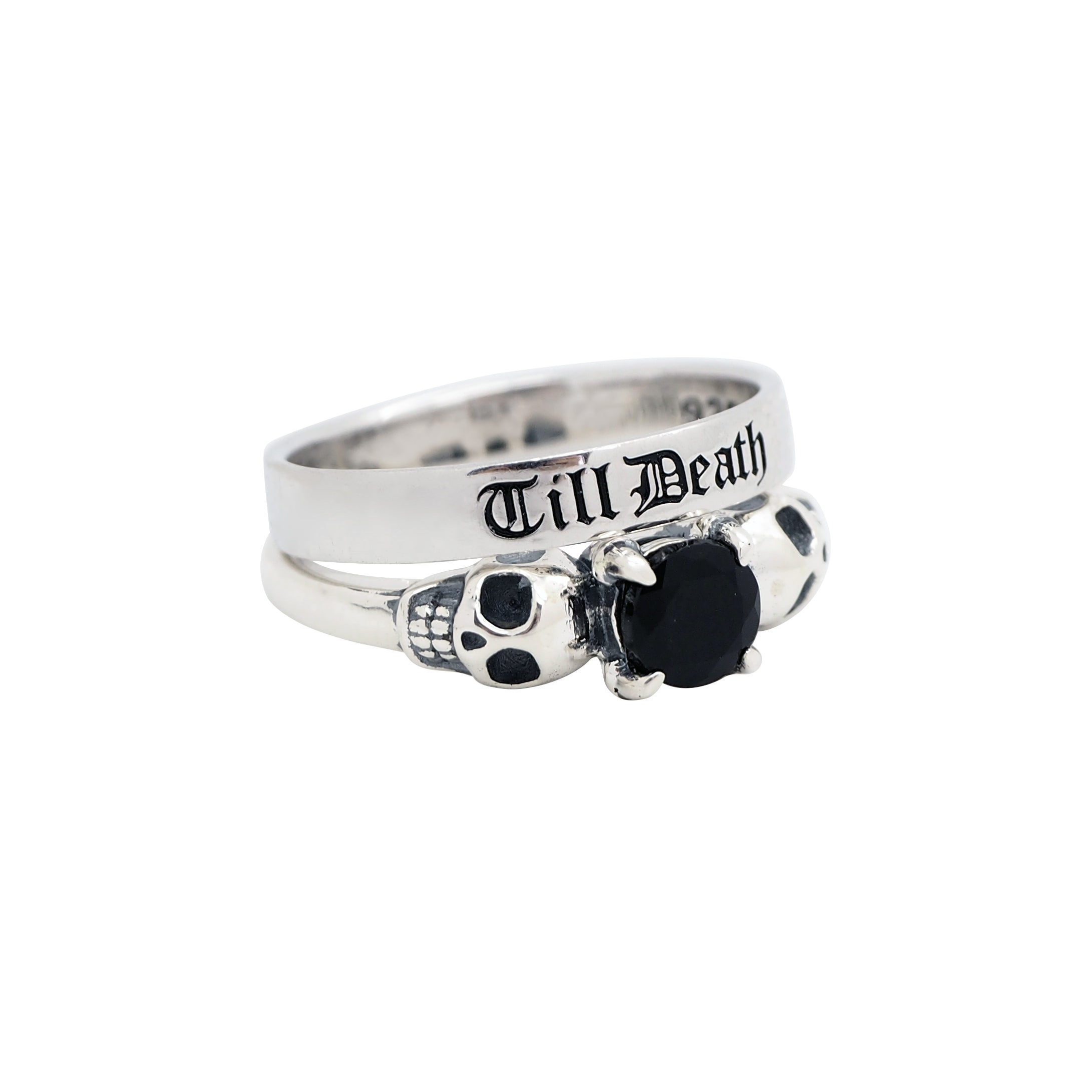 Sterling Silver Till Death Band