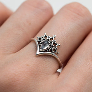 Sterling Silver Hatha Ring