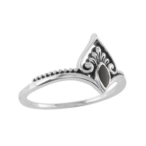 Sterling Silver Realisation Onyx Ring