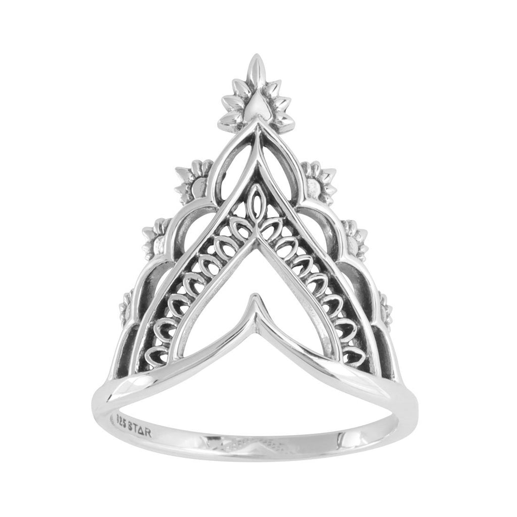Sterling Silver Sundance Ring