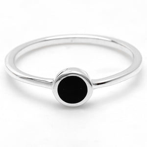 Sterling Silver Elixir Black Onyx Ring
