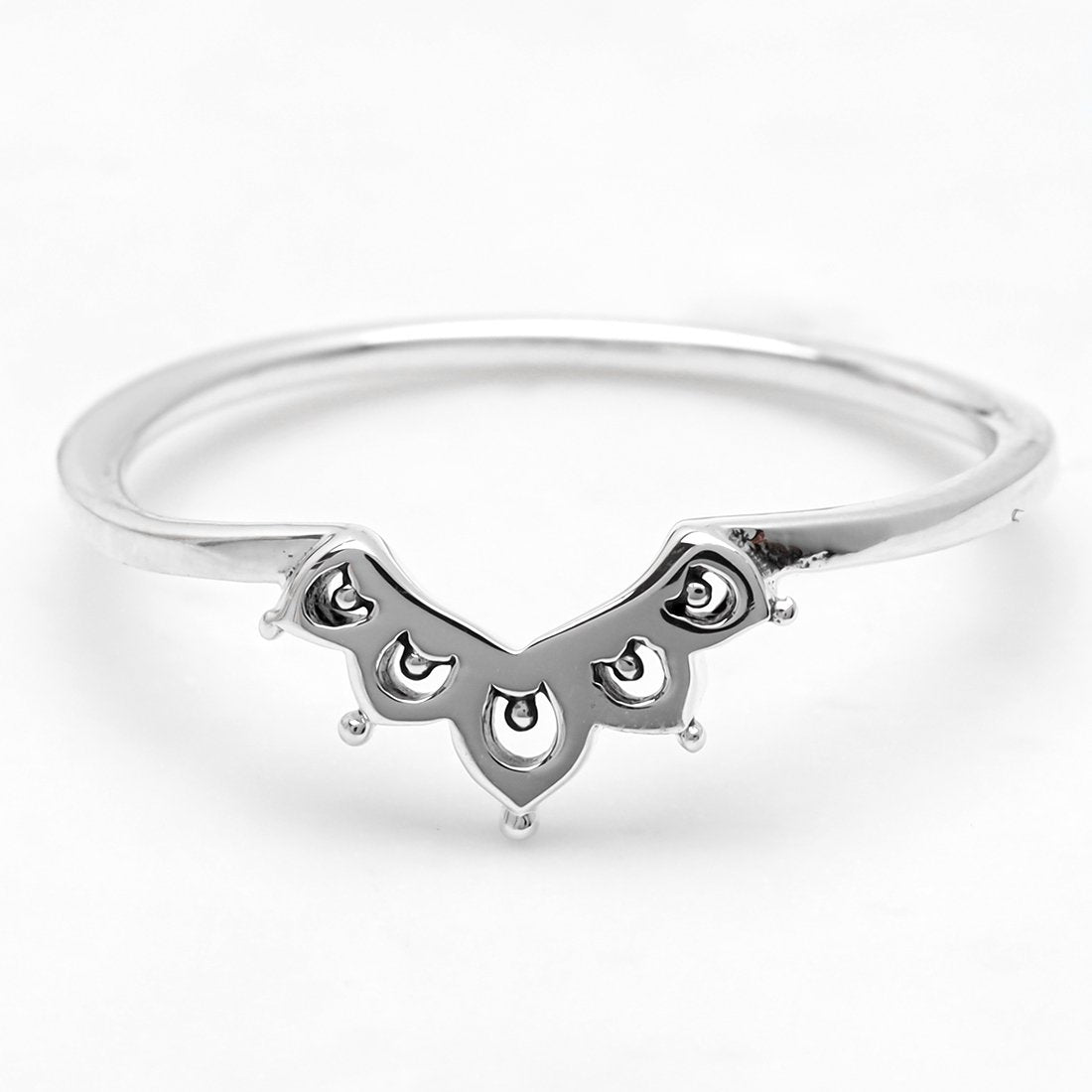 Sterling Silver Elixir Stack Ring