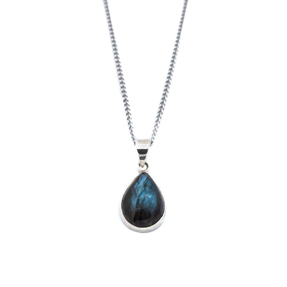 Witch's Tears Labradorite Necklace