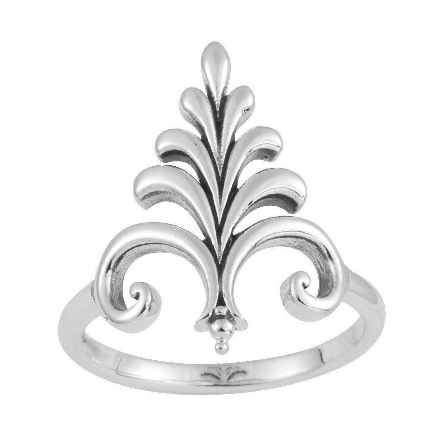 Sterling Silver Fountain Ring