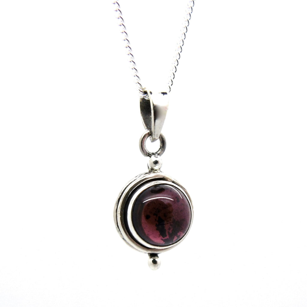 Garnet Witchcraft Necklace