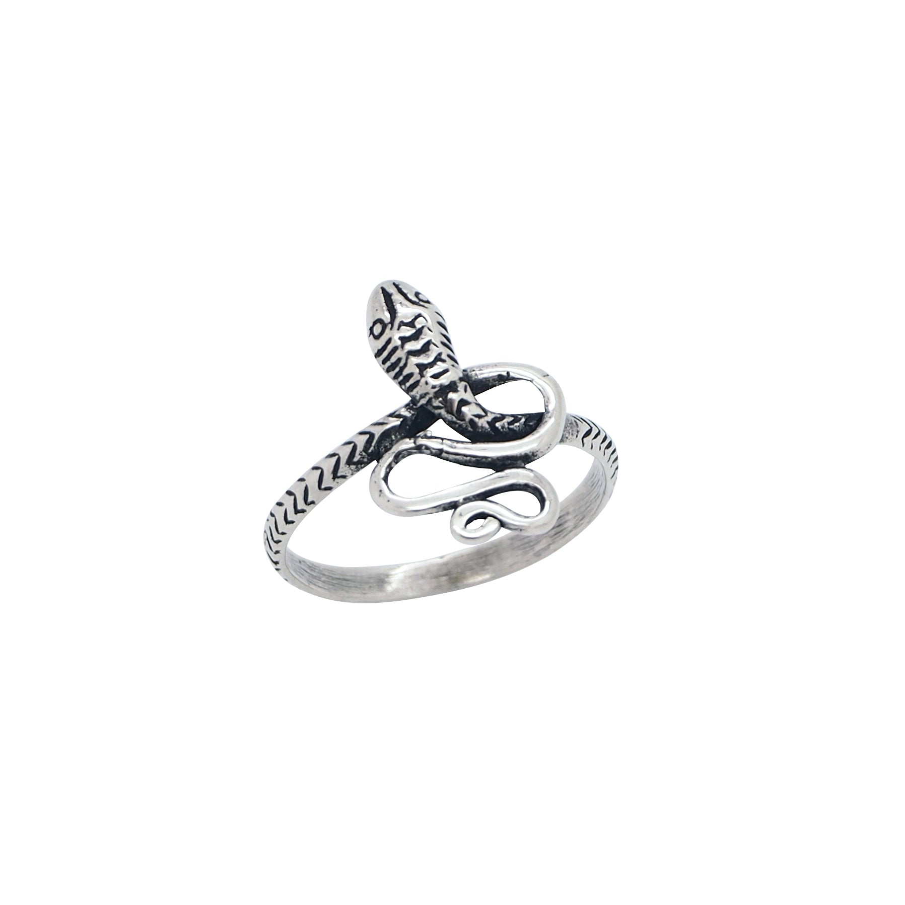 Sterling Silver Serpentina Ring