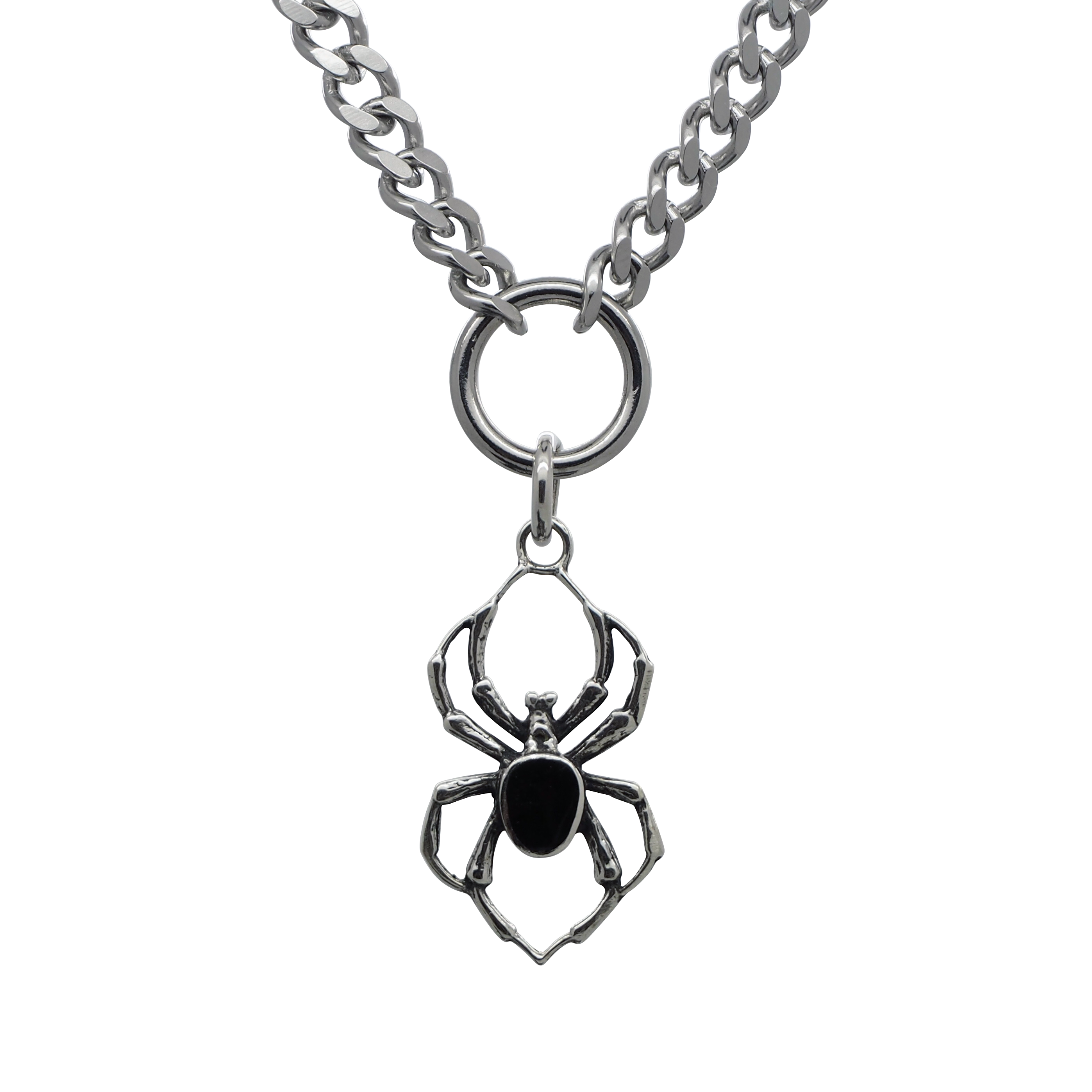 Black Widow Chain Necklace